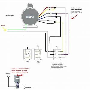 Diagram  Wiring Diagram Dayton Reversible Motor