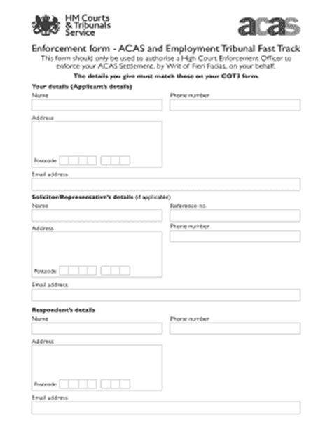 Editable acas contract of employment template - Fill, Print & Download Forms in Word & PDF