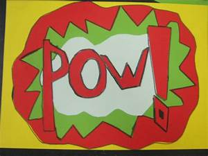 Class Schedule Outline Pop Art Roy Lichtenstein Holmpatrick National School