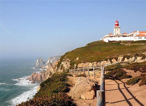 cabo da roca  portugal het meest westelijke punt van europa en dichtbij sintra gelegen