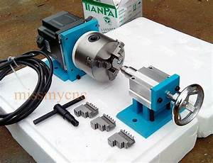 Cnc Router Rotational Rotary Axis A 4th