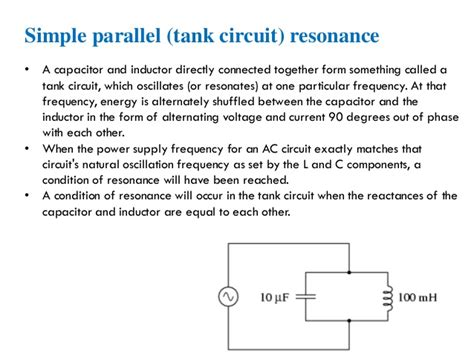 Rlc Resonance Frequency For Electrical Engineers