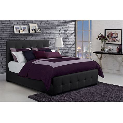 Tufted Lounge Reversible Bed by Tufted Lounge Reversible Bed Black Walmart