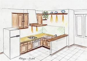 attrayant faire un plan de cuisine 1 exemple de plans With exemple plan de cuisine