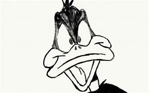 Daffy Duck Pencil Drawing by joshuadrawsthings on DeviantArt