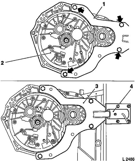 Vauxhall Transmission Diagram by Vauxhall Workshop Manuals Gt Corsa C Gt K Clutch And