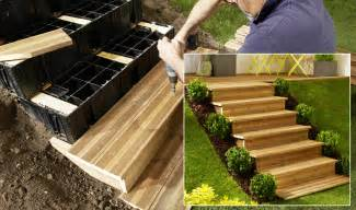 Construire Un Escalier De Jardin jouplast escalier jardin modulesca jouplast solutions