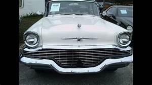 1957 Studebaker Champion Four Door Sedan Whtgray Zh111513