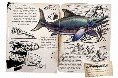 Ichthyosaurus Dossier Ark Tames Survival Evolved Ichthy