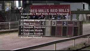 Connolly's RED MILLS Open Unraced Round 1 Heats 1-6 - YouTube