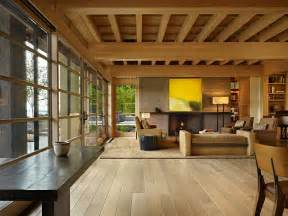 wood interior homes contemporary house in seattle with japanese influence idesignarch interior design