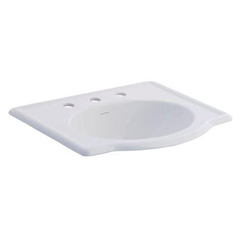 american standard retrospect sink home depot american standard retrospect self drop in bathroom