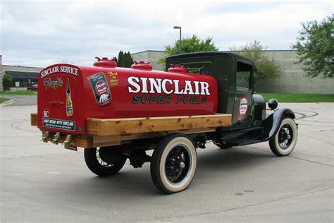 ford model aa fuel tanker truck