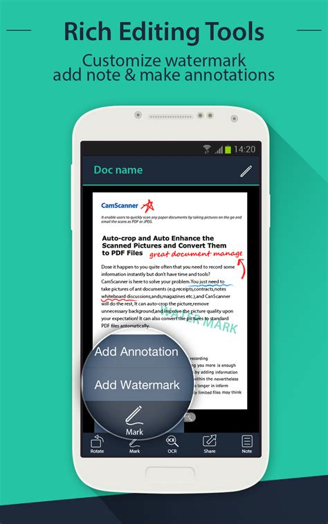center app for android camscanner android evernote app center