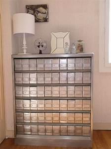 un meuble de metier rare le fichier metallique diy With moderniser un meuble en bois