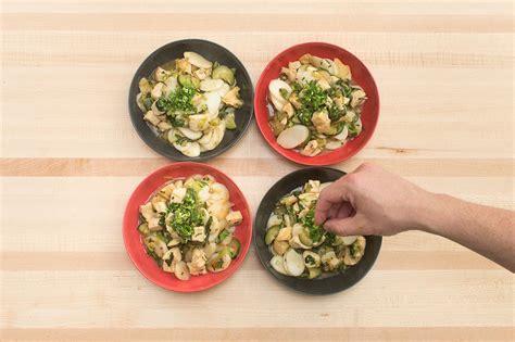recipe spicy hoisin chicken rice cakes  garlic
