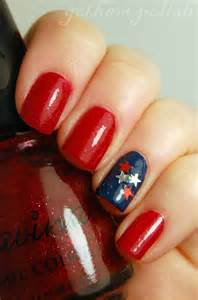 Th of july nail ideas