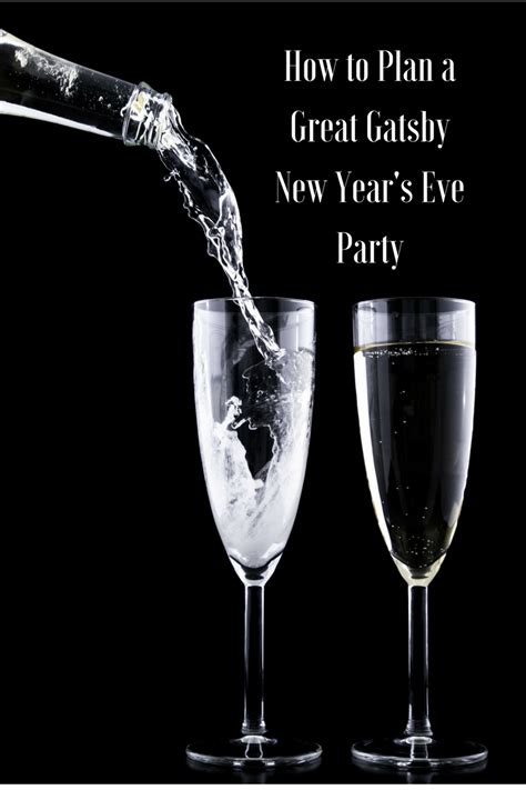 How To Plan A Great Gatsby New Year's Eve Party