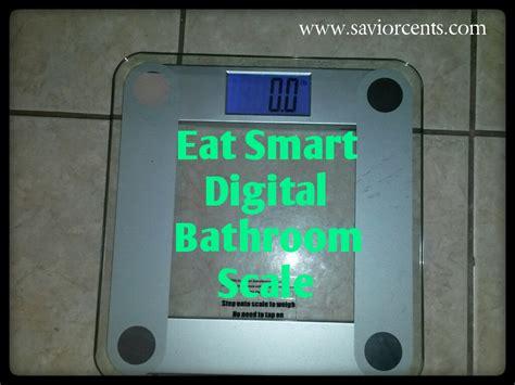eatsmart precision digital bathroom scale review savior