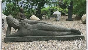 Buddha Figuren Garten Günstig : kunstvoller buddha liegend pranjal aus thailand ~ Bigdaddyawards.com Haus und Dekorationen
