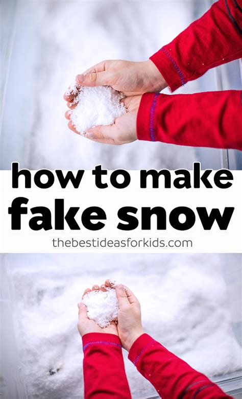 best fake snow how to make snow the best ideas for