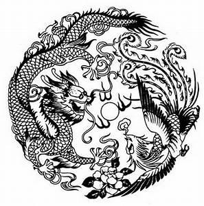 Dragon And Phoenix Symbol