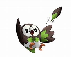 Rowlet Pokemon Shiny Images | Pokemon Images