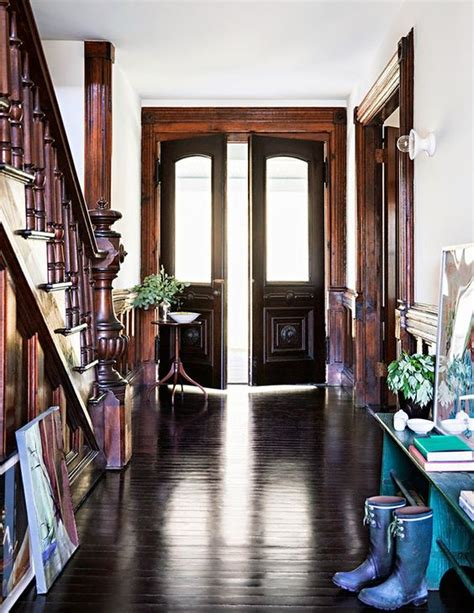 old house inspiration unpainted wood trim