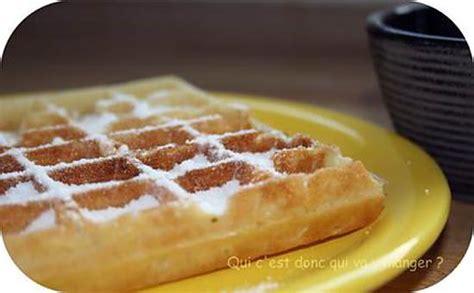 recette de gaufres et sucre glace maison sans gluten et sans lactose