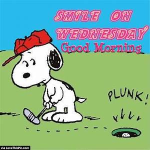 Good Morning Snoopy : smile on wednesday good morning snoopy quote pictures photos and images for facebook tumblr ~ Orissabook.com Haus und Dekorationen