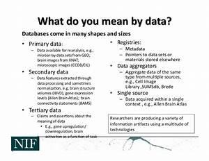 Neurosciences Information Framework (NIF): An example of ...