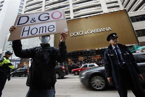 dolce gabbana photo ban sparks protest scene asia wsj