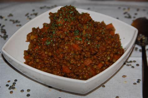 lentille cuisine recette lentilles à la marocaine maman ça déborde