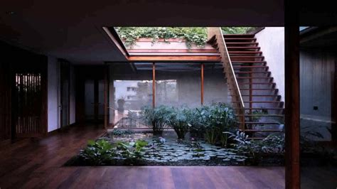 small house plans  central courtyard youtube