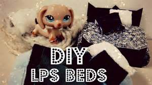 Plush Dog Beds by Diy 3 Lps Beds Plush Bed Dog Bed Traditional Bed Youtube