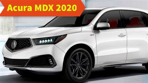 2020 Acura Mdx Aspec by 2020 Acura Mdx Aspec Rating Review And Price Car Review