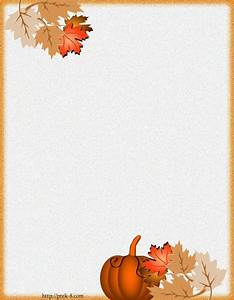 Free Printable Fall Stationery Borders   Writing paper ...