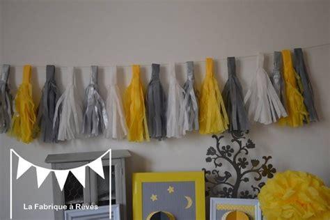 chambre fille jaune décoration chambre fille jaune