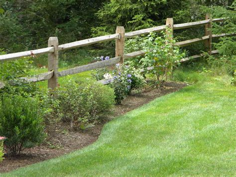 split rail fence landscaping pin by sandra bateman on home sweet home decorating ideas for my fu