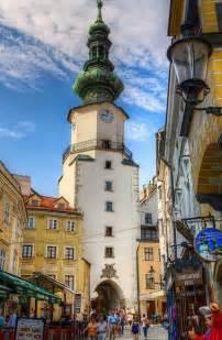 Michaels Gate Bratislava Slovakia