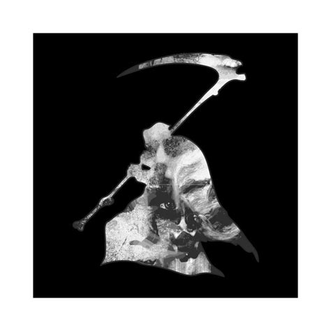 T-Shirt Death (Grim Reaper) black