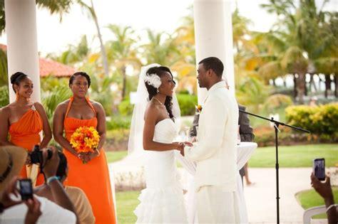 black wedding style island love in the sun