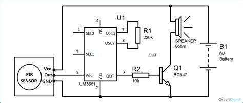 burglar alarm circuit and projects diy burglar alarm circuit diagram electronic circuits in 2019 circuit diagram circuit intruder