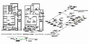 Electrical Installation Plan With Riser Diagram For Small