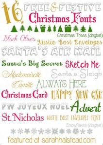Christmas Free Font Downloads
