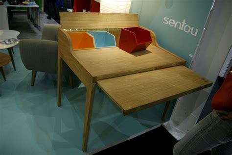 bureau sentou bureau en bois design avec rallonge hansen family remix