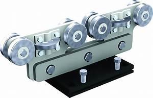 Rail De Guidage Pour Portail Coulissant : monture acier 8 galets roulement billes pour rail 9060 mantion 9968s ~ Voncanada.com Idées de Décoration