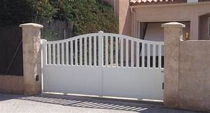 Moteur Portail Coulissant Castorama : installation d 39 un portail coulissant et d 39 un portillon a ~ Dallasstarsshop.com Idées de Décoration