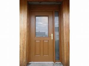 porte pvc couleur bois obasinccom With porte d entrée pvc avec plateau bois salle de bain