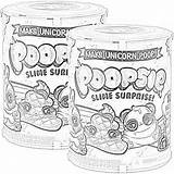 Poopsie Surprise Unicorn Slime Coloring Pages Unicorns Filminspector Surprises Included Right sketch template